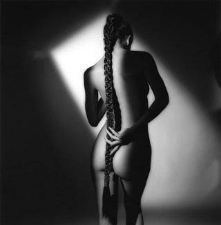 : Beautiful, Art, Long Hair Dos, Longhair, Long Braids, Bw Photography, Jeans Loup, Jeanloup Sieff, Human Figures