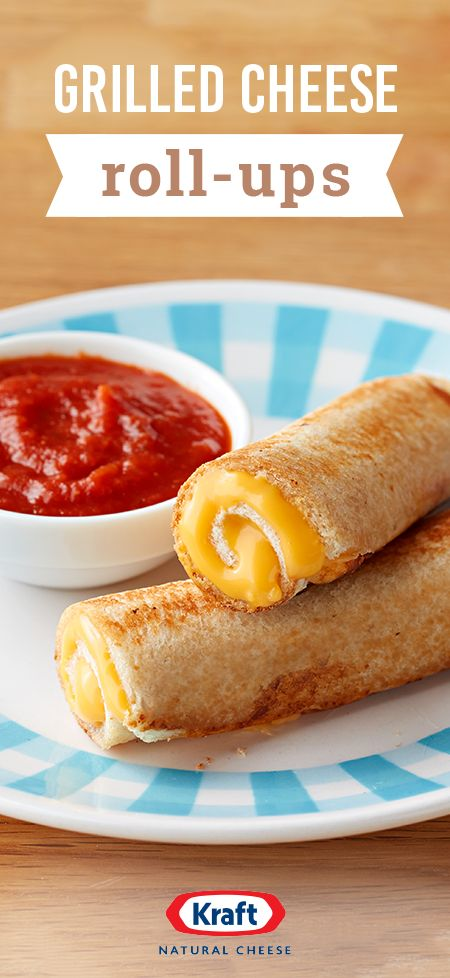 Grilled Cheese Roll-Ups – You can't go wrong with a classic grilled cheese...