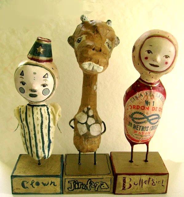 Original Art Dolls by Paola Zakimi