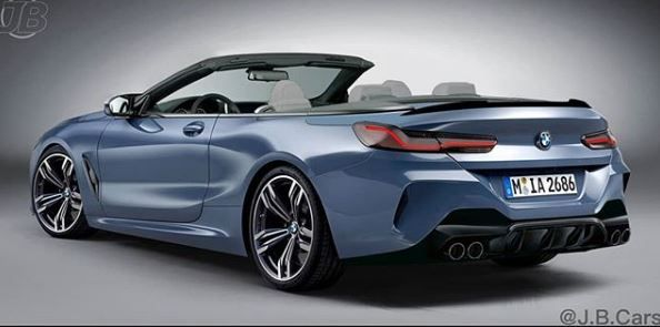 2020 Bmw M8 Convertible Gets Rendered Rather Accurately Bmw Convertible Bmw Convertible