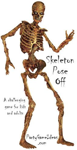 22 best images about halloween party games on pinterest - Scary skeleton games ...