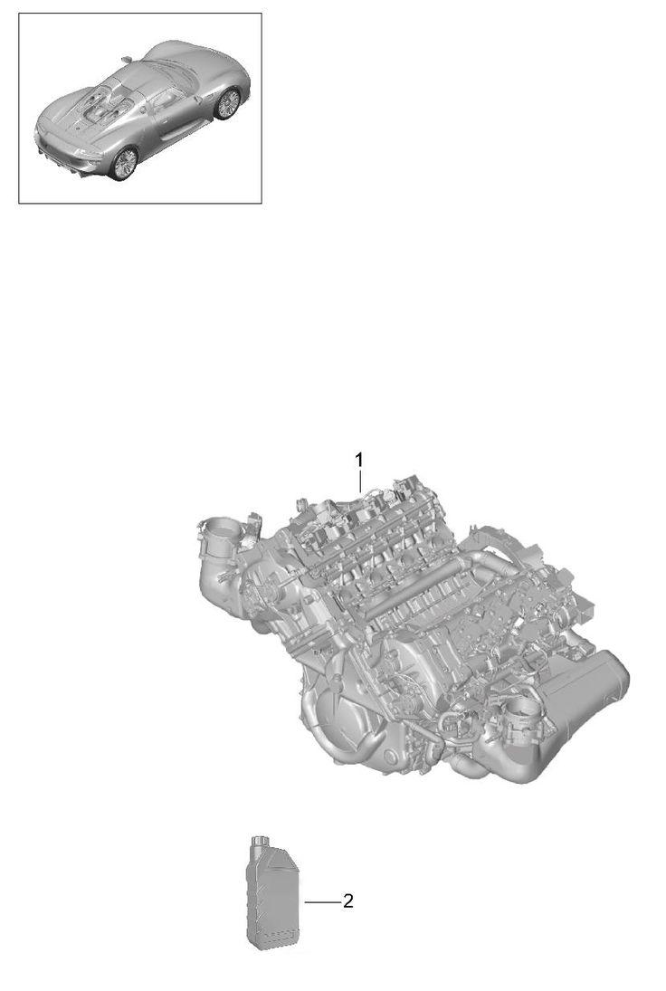 Porsche 918 Spyder Replacement engine. Porsche - 91810091801 | Porsche Atlanta Perimeter Parts, Atlanta GA