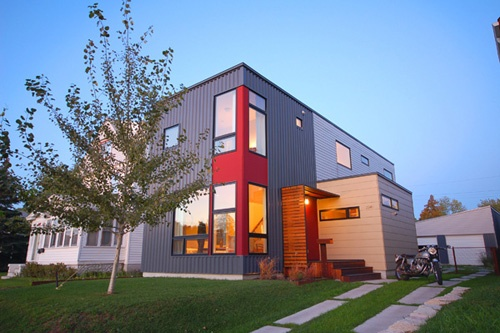 51 best metal siding images on pinterest metal siding for Hive modular prices