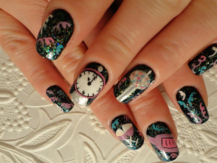 Happy New Years 2013 - Nail Art Gallery