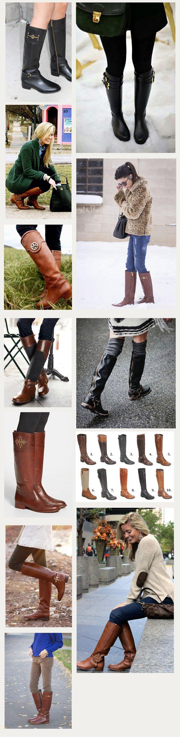 Tendencia: Botas Tory Burch - Tiendas Dressup Providencia http://tiendasdu.cl/blog-ropa-mujer-femenina-moda/tendencia-botas-tory-burch.html