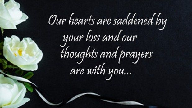 Condolence Quote Sympathy Message Image Free Download Quotes He Wa Saddened By The New Paraphrase