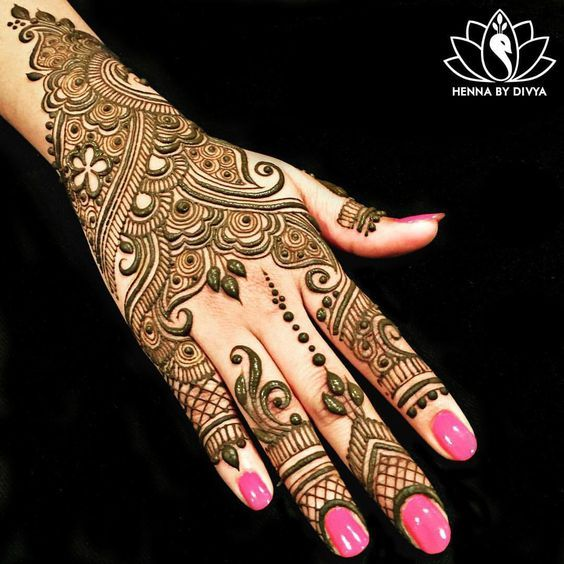 20+ Beautiful Mehndi Designs | Great Inspire