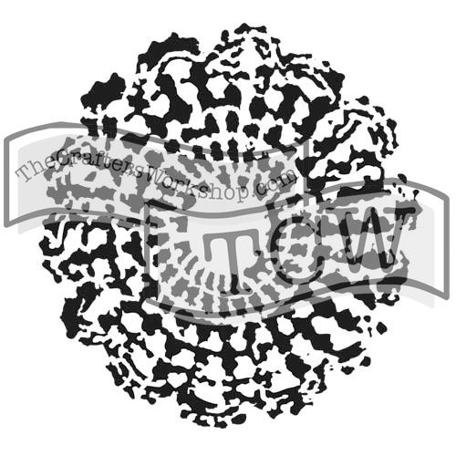 TCW380 Stencil Grandmas Doily | The Crafter's Workshop Store