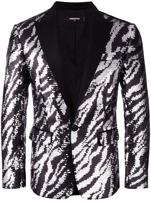 DSQUARED2 Giacca Tiger Flash Jacket. #dsquared2 #cloth #jacket