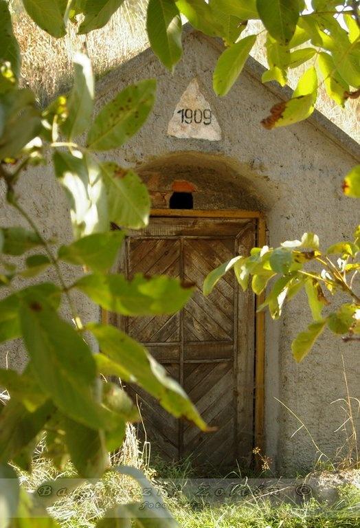 Hungarian folk architecture : door /magyar népi építészet,