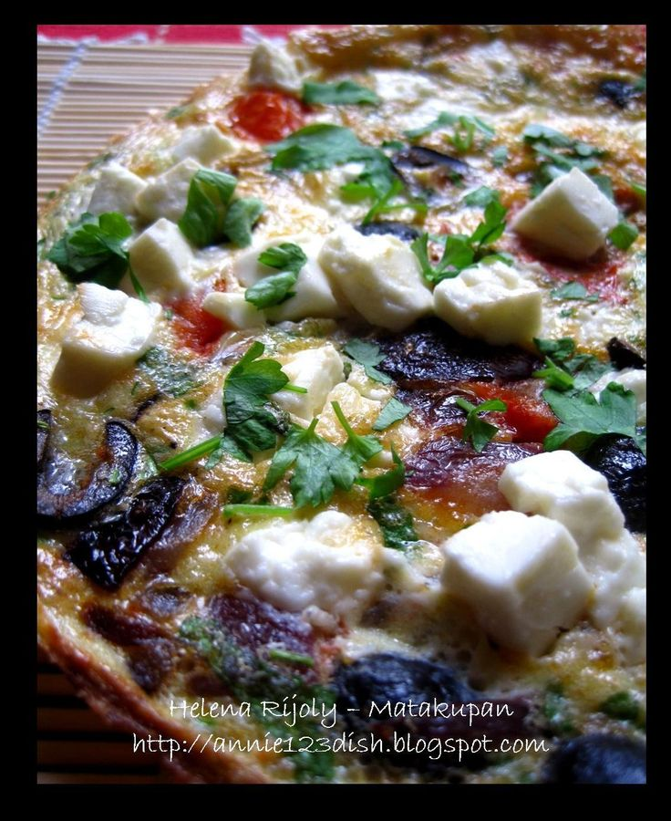 Annie's 1-2-3 Dish: Greek Salad Omelete