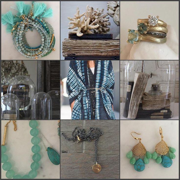 #wintage#dream#blue#aqua#bohemian#style#tresure#island#chalcedony#aquamarine#turkoise#gold#silver#somethingoldsomethingnew#jewellery#livrefsdal#smykker#oslo#norge