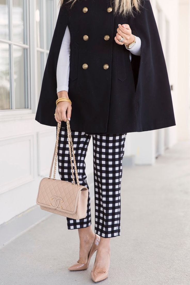 How To Wear Printed Pants : Gingham Gal ~ Suburban Faux-Pas