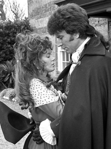'POLDARK' (1975-77): Demelza and Ross Poldark (Robin Ellis).