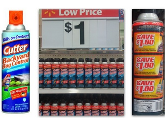 Free Cutter Bug Spray at Walmart! Click Image to see coupon scenarios on how to save money with coupons!