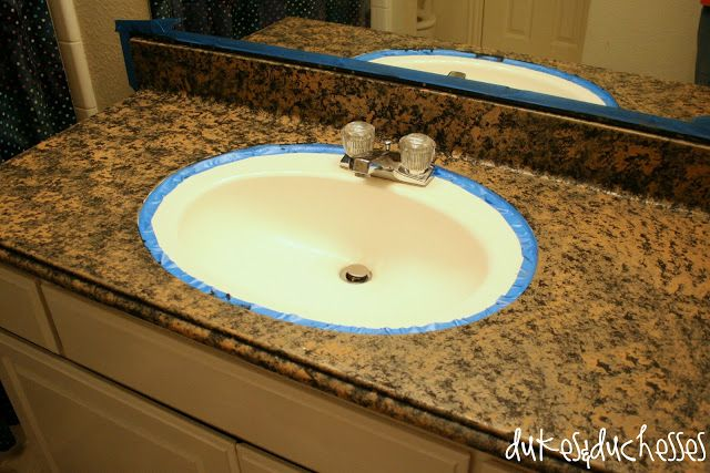 ... Diy countertops, How to paint and Painted granite countertops