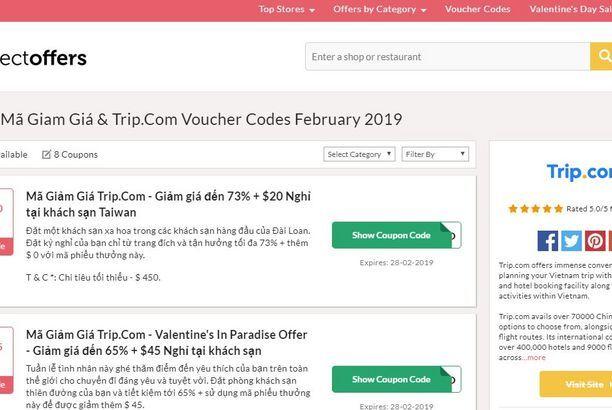 Ma Giảm Gia Trip Com Ctrip Promo Codes Coding Voucher
