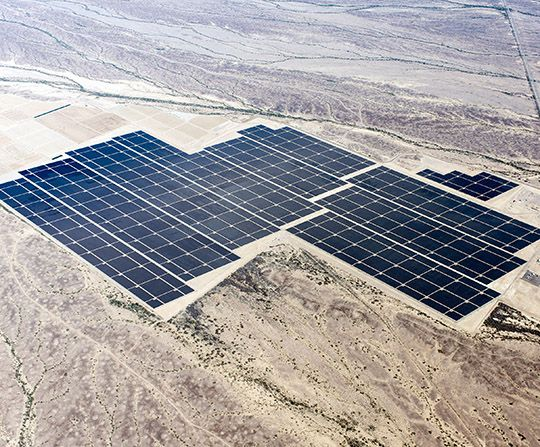 Concluída Construção da Maior Central Fotovoltaica do Mundo