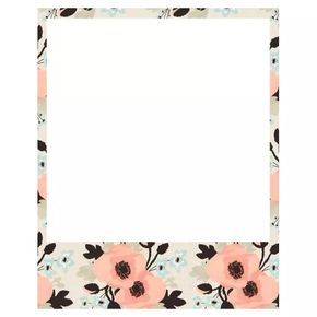 polaroid frame | p.g. on We Heart It