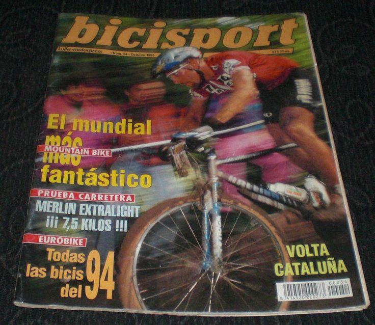 Revista Ciclismo Bicisport N 54 Octubre 1993 Todas las Bicis del 94 con Poster