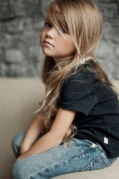 coolness.: Little Girls, Hair Colors, Kristina Pimenova, Long Hair, Children, Kids Clothing, Stylish Kids, Toms Boys, Girls Hair