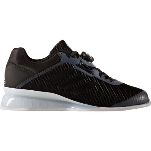 Adidas Men's Leistung 16 2.0 Weight Lifting Shoes (Black/White, Size 9.5) - Men's Training Shoes at Academy Sports