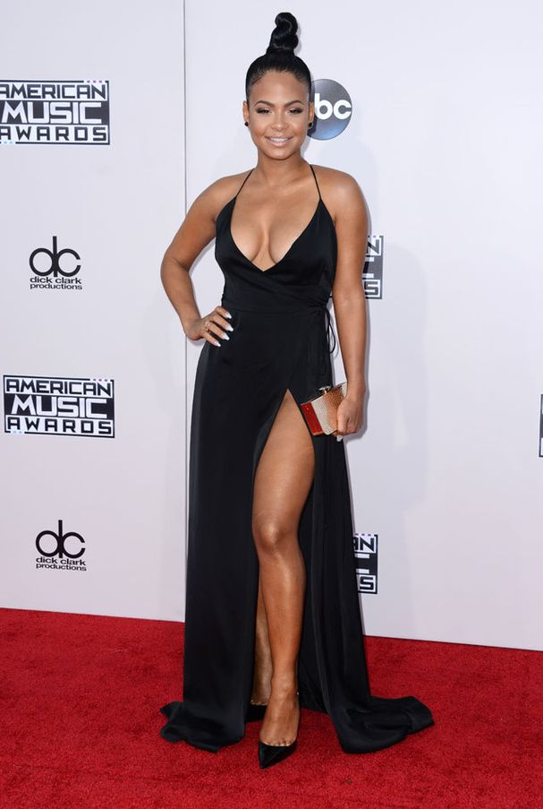 Christina Milian aux American Music Awards 2015