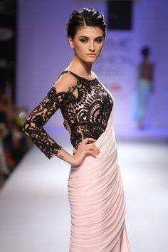 'Rebel with a Cause' by Sonaakshi Raaj for Lakme Fashion Week! #JabongLFW #lakmefashionweek