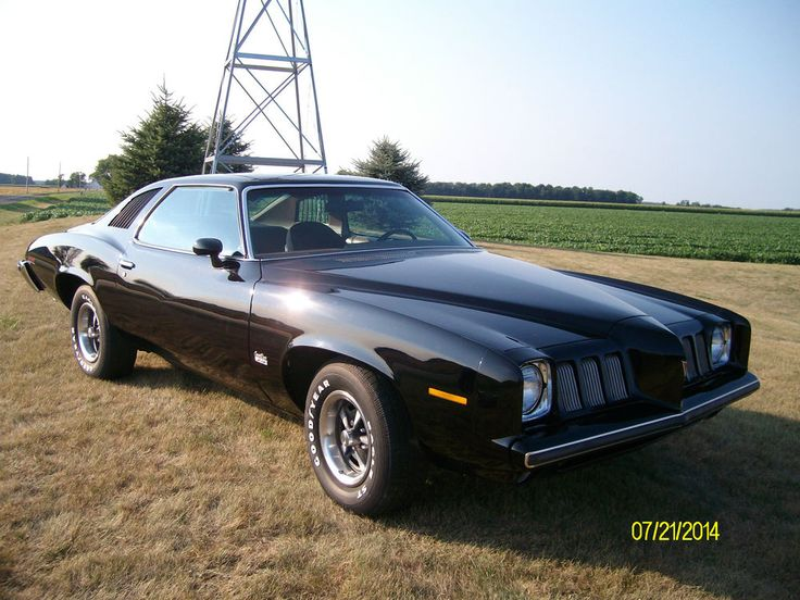 1973 Pontiac Grand Am...my mom owned one when I was a little girl. Hers was a chocolate brown color, with tan leather interior and bucket seats.