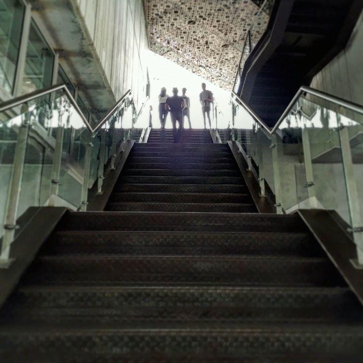 Museo de Arte Moderno de Medellín, MAM, MAMM, Museo, Museum, Escaleras, Stairs