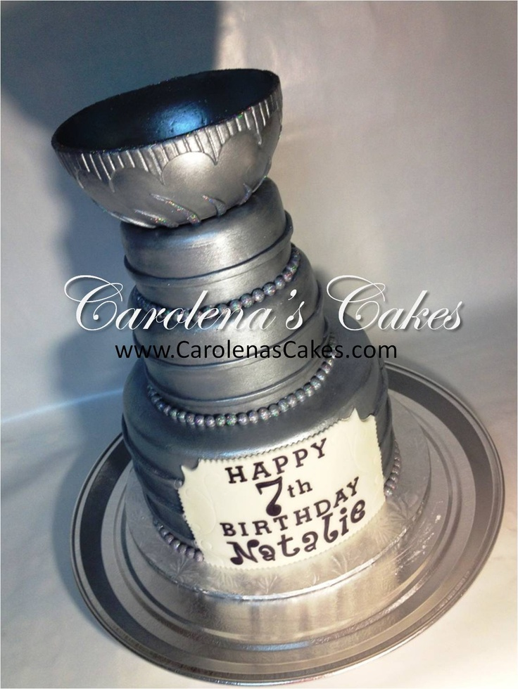 The Stanley Cup - Hockey Birthday Cake