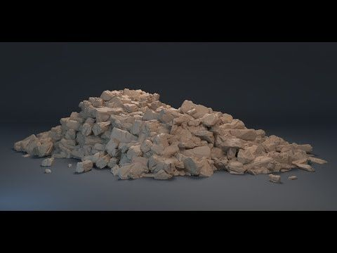 Publicado el 1/6/2014 This is a tutorial of one of the latest techniques I use to create realistic piles or rocks or rubble. Its a lengthy p...