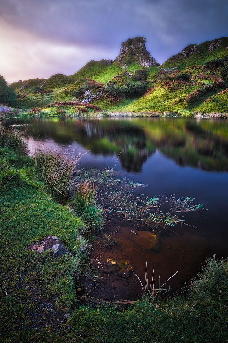 The Fairy Glen, Uig, Trotternish Peninsula, Isle of Skye, Hebrides, Highlands, Scotland by Ian Hex of LightSweep