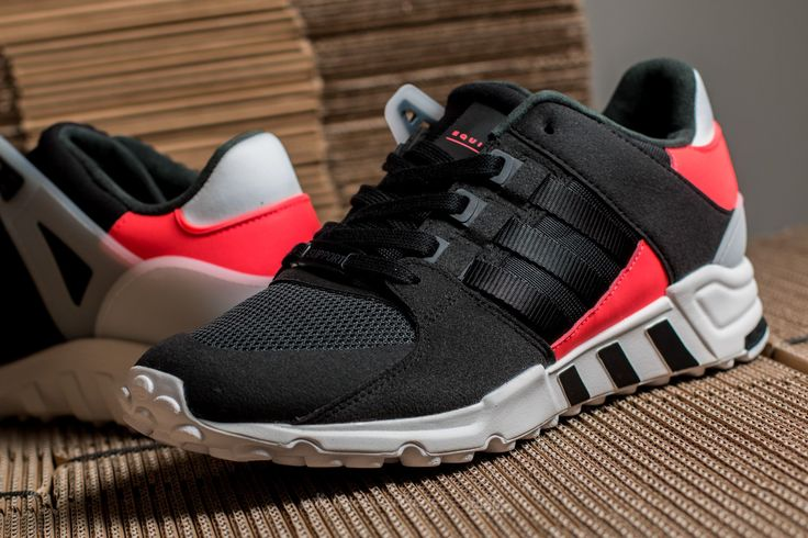 ADIDAS EQT SUPPORT RF CORE BLACK/ CORE BLACK/ TURBO #adidas #nmd #shoes #sneaker #sneakerhead #style #outfit #fashion #menstyle #trendway #trends #allstar #eqt