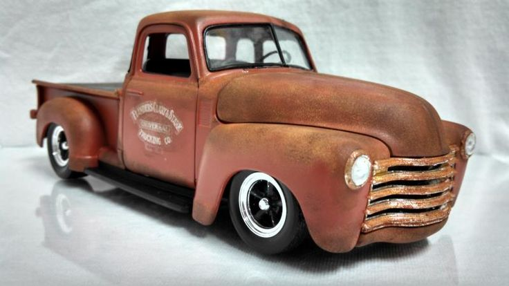 1950 Chevy Weathered pick up