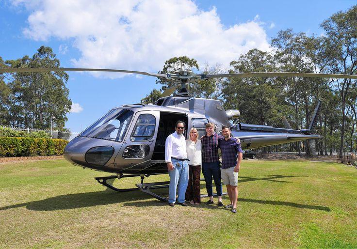 Helicopter Flights over Brisbane City