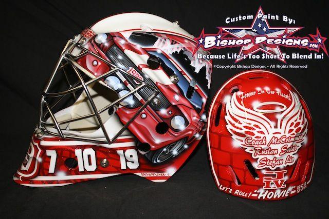 Jimmy Howard Detroit Red Wings Mask 2013