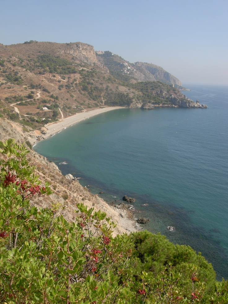 Playa Cañuela, one of the many nice secluded beaches... www.andalusie-zeezicht.nl