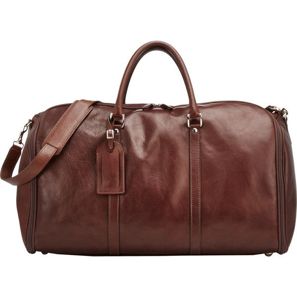 t anthony menu0027s 48 hour bag liked on polyvore featuring menu0027s fashion menu0027s bags brown mens leather duffel bag mens leather - Mens Leather Duffle Bag