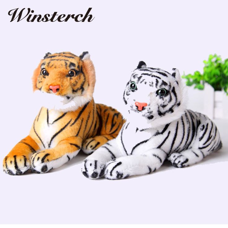 Beanie Boo Ty Simulation Tiger Plush Toy Soft Stuffed Animals Doll Baby Kids Holiday gifts Soft Stuffed Toy Tiger Model WW142 #Affiliate