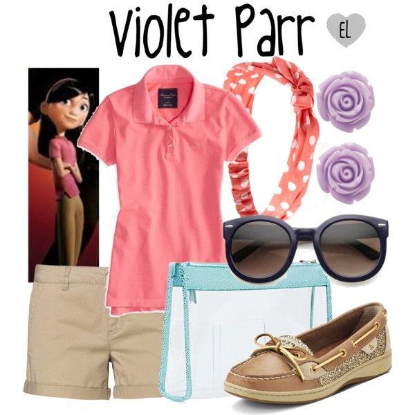Violet Parr -- The Incredibles