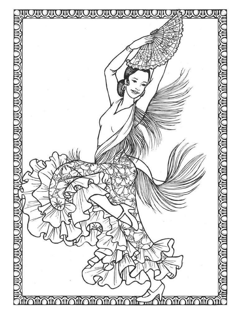 ClippedOnIssuu From Dancers Coloring Book Costumes For