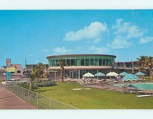 At one time the Seahorse Motel in Galveston was considered quite modern.