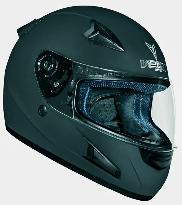 Casque de moto et VTT – Altura X1240 - Price:99.99  Casque de moto et VTT Vega X1240.   Vega X1240 full face helmet in Flat Black. Wick-dri anti-microbial fabric comfort fit liner cradles the head Chin, forehead, mouth and rear vents provide ventilation 9 different shield options available: tints, mirrors and anti-fog Meets or exceeds US DOT standard FMVSS 218 Vega full face helmet the X888 […]  Cet article Casque de moto et VTT – Altura X1240 est apparu en premier sur Centre de Liquidation…