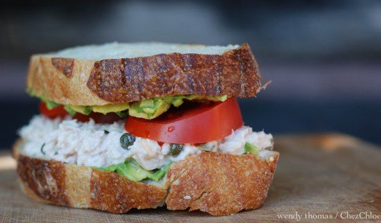 Tuna, Capers and Avocado Sandwich | Kawaa Kitchen: Lunch | Pinterest ...