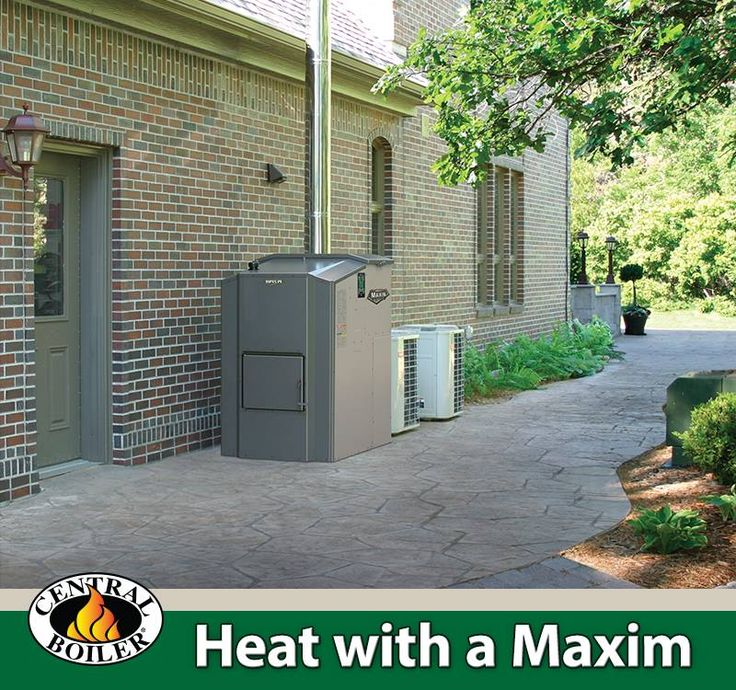 The Maxim Outdoor Wood Pellet And Corn Furnace From Central Boiler Is A Cost Energy Efficient Way To Help You Save Money On Your Home Heating Bill
