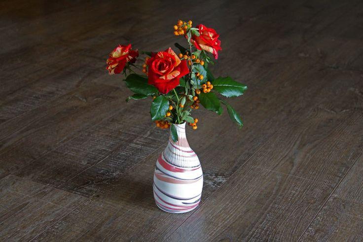 Striation Collection- Flower Vase