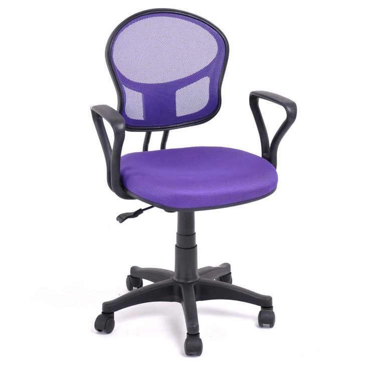 Aingoo Bernapas Kantor/Komputer Kursi dengan lengan dengan kain bantalan Kursi Tinggi Adjustable 360 Derajat Berputar Roda Kursi Kantor