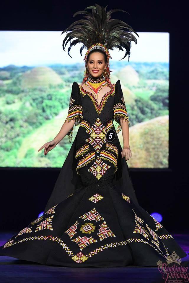 Binibining Pilipinas 2018 Filipino Women Clothe By Top Fashion Designers Modern Filipiniana Dress Batik Fashion Filipiniana Dress