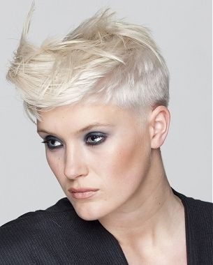Outstanding 1000 Ideas About Short Edgy Hairstyles On Pinterest Hairstyles Short Hairstyles Gunalazisus